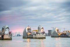 Barrera Londres de Thames Fotografía de archivo libre de regalías