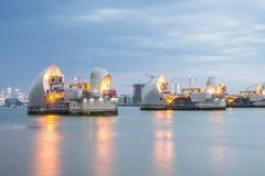 Barrera Londres de Thames Fotos de archivo libres de regalías