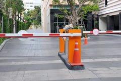 Barreras de la seguridad del vehículo Imagen de archivo libre de regalías