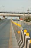 Barreras del camino Imagenes de archivo