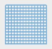 Barres bleues de prison Photographie stock