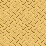 Barres d'or texturisées de plaque métallique Photos libres de droits