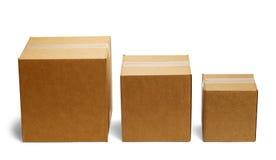 Barres de boîte Photo stock
