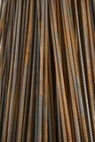 Barres de construction en métal photographie stock libre de droits