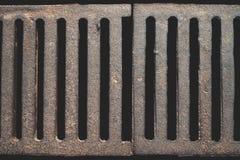 Barres de fer rouillées Photographie stock
