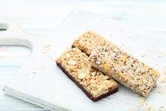Barres de granola images libres de droits