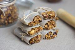 Barres de granola images stock