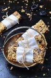 Barres de granola délicieuses image libre de droits