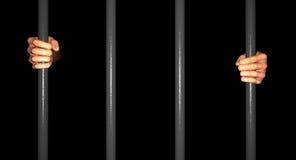 Barres de prison Image stock