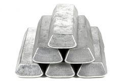 Barres en aluminium photos stock