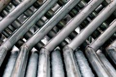 Barres en métal Photographie stock