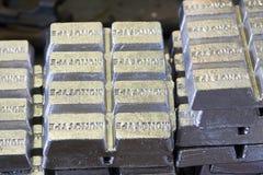 Barres en métal Photo libre de droits