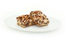 Barres magiques de biscuit photographie stock