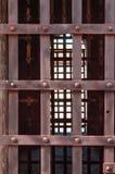 Barres territoriales de prison Photographie stock