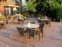 Barrestaurant in openlucht Royalty-vrije Stock Afbeelding