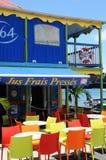 Barrez dans les les Saintes en Guadeloupe image libre de droits