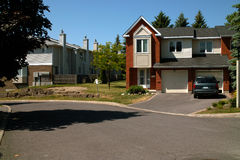 Barrhaven housing Ottawa Ontario Canada Stock Photo