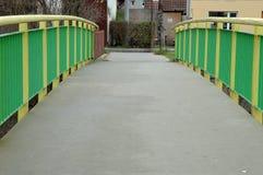 Barriär på bron Royaltyfria Bilder