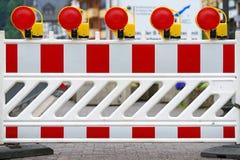barriärtrafik Royaltyfria Bilder