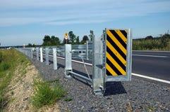 barriärväg Arkivbilder
