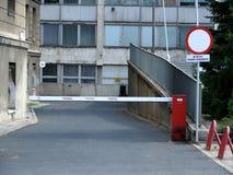 barriärväg Fotografering för Bildbyråer