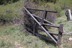 Barrière abandonnée Images libres de droits