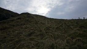 Barrière au ciel, Irlande photo stock