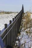 Barrière au fort Trumbull photos libres de droits