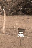 Barrière barbelée Photo libre de droits