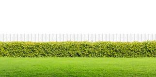 Barrière blanche Photos libres de droits