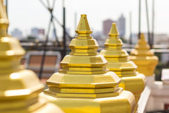 Barrière chez Wat-Ratchanadda Images libres de droits