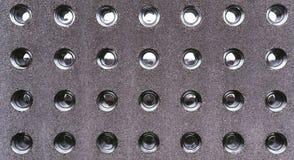 Barrière concrète moderne avec l'insertation en verre photo libre de droits
