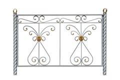 Barrière décorative avec des rosettes Images stock