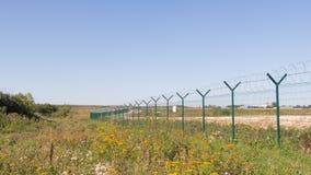 Barrière d'aéroport Photo stock
