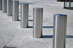 Barrière d'accès de véhicule Contrôle d'accès de périmètre pour des véhicules image libre de droits