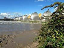 Barrière d'inondation de la Tamise photographie stock