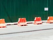 Barrière de barrière Photos libres de droits