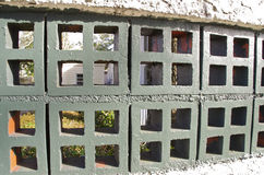 Barrière de bloc Image stock