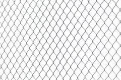 Barrière de Chainlink en métal photos libres de droits