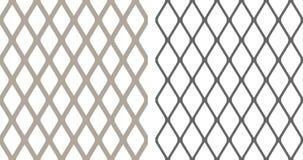 Barrière de chainlink sans couture Images libres de droits