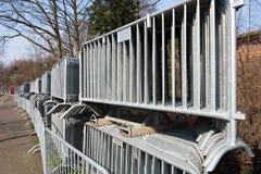 Barrière de contrôle de Croud Image stock
