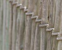 Barrière de corde Photo libre de droits
