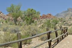 Barrière de désert Images libres de droits