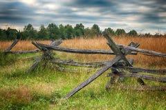 Barrière de Fente-rail photo libre de droits