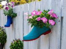Barrière de fleur Photos stock