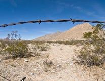 Barrière de frontière Photos stock