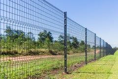 Barrière de frontière Security Landscape Image stock