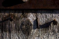 Barrière de Grey Wooden - barrière en bois rustique grise de texture de fond photos libres de droits