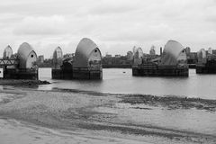 Barrière de la Tamise, Londres Photos libres de droits