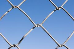 Barrière de maillon de chaîne (séries) images libres de droits